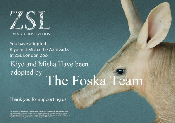 Foska Adopt Kiyo and Misha