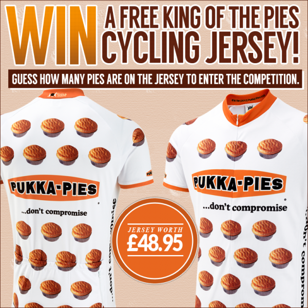 King of the Pies Road Cycling Jersey
