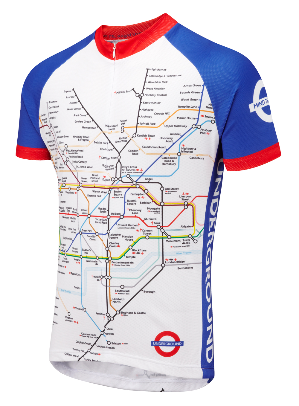958708237 Underground Road Cycling Jersey