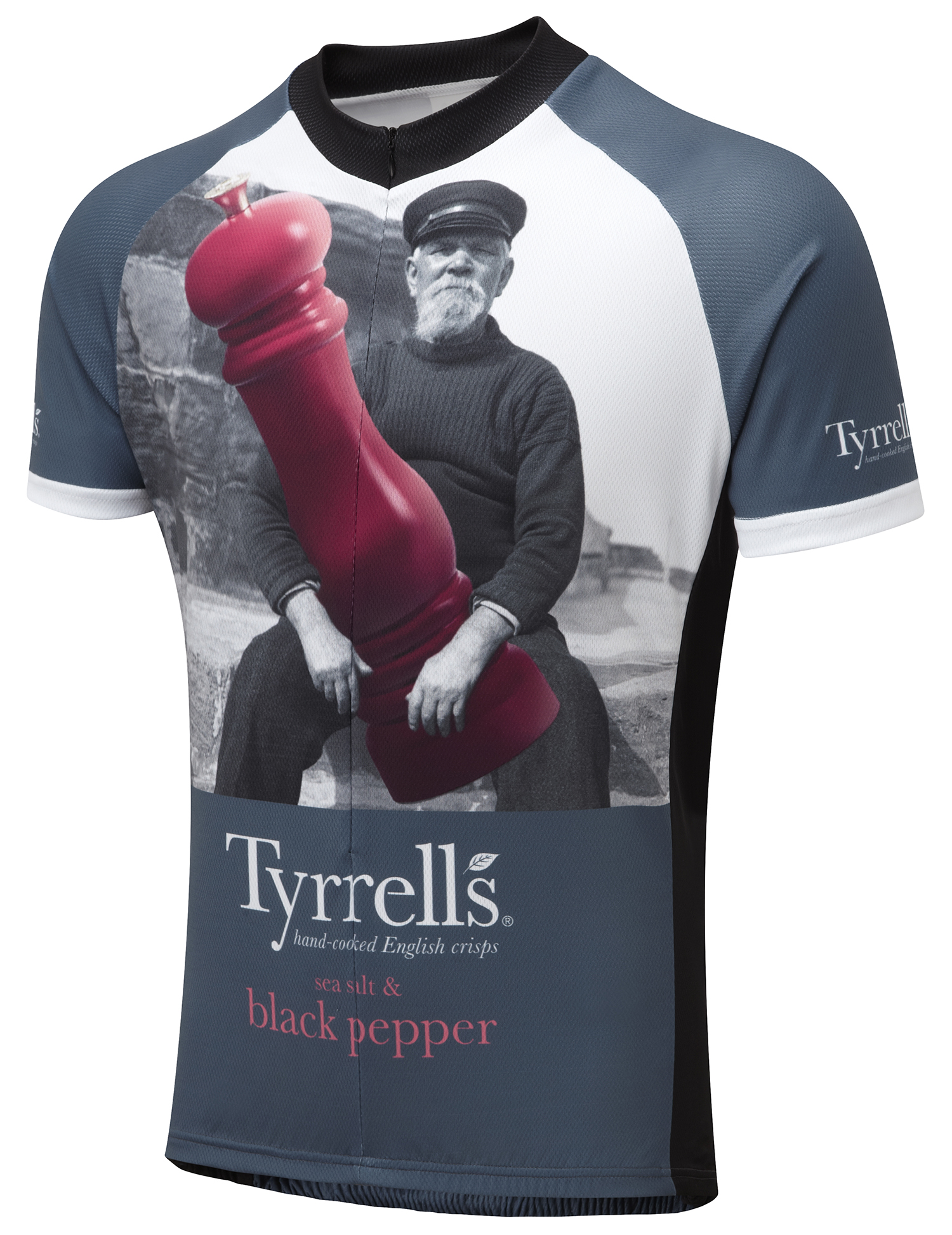 Tyrrell S Black Pepper Road Cycling Jersey Foska Com