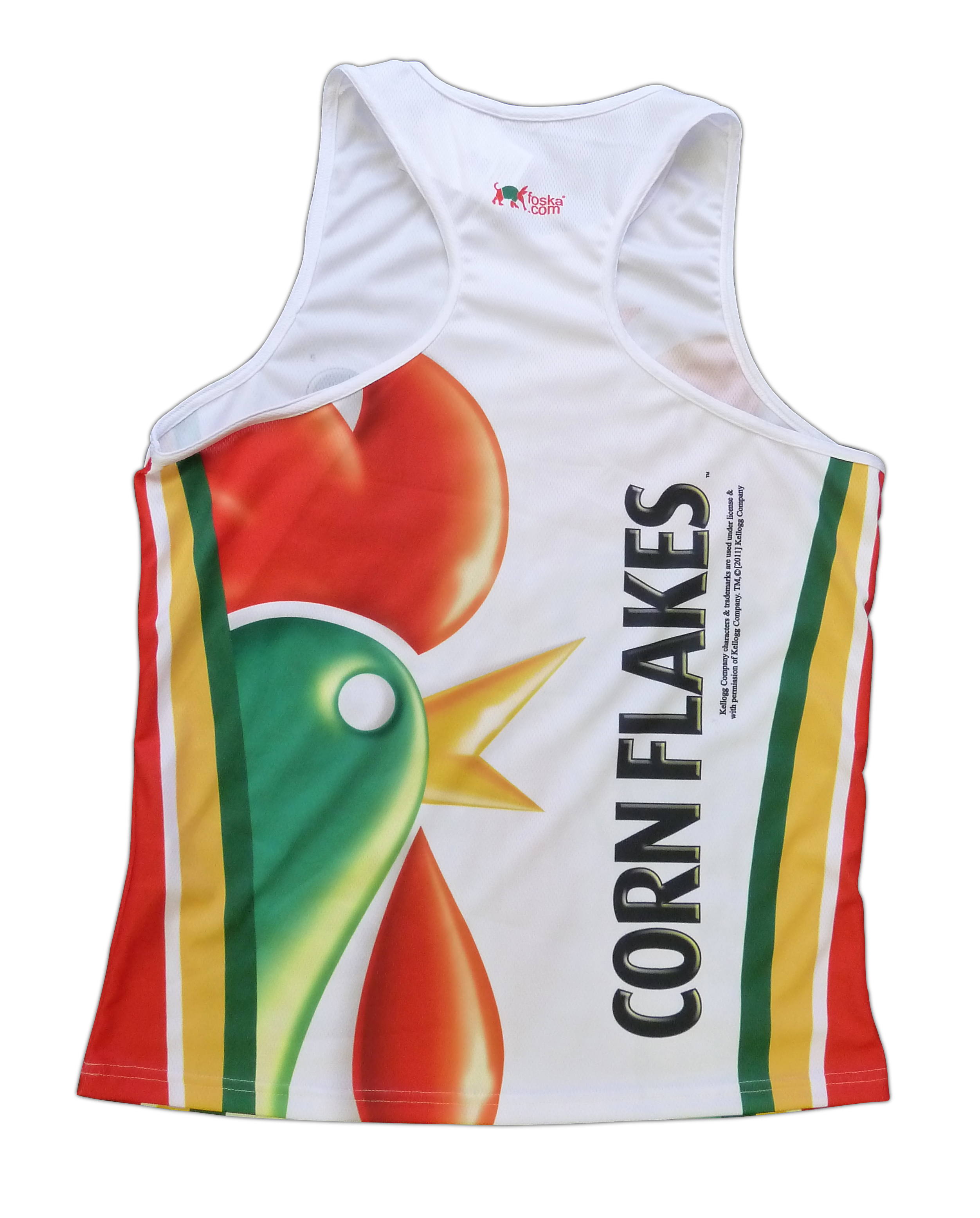 Corn Flakes Cereal Cycling Jersey Short Sleeve