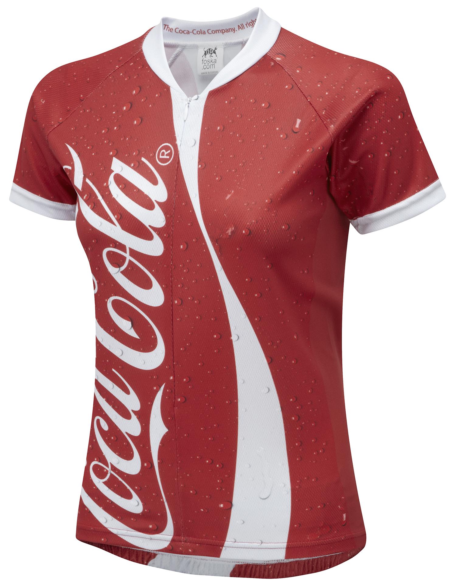 Coke Can Women s Road Cycling Jersey 0c514e758