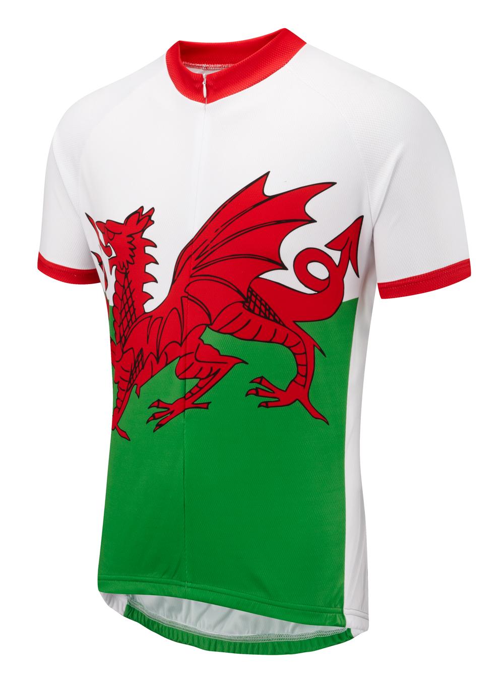 WALES V2 Short Sleeve Cycling Jersey