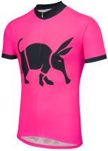 Oska Fluro Pink Road Cycling Jersey