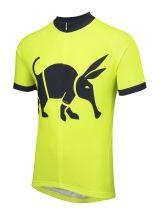Oska Fluro Yellow Road Cycling Jersey