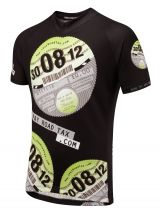 iPayRoadTax Road Cycling Jersey - Front Black