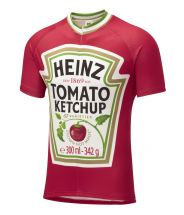 Heinz Tomato Ketchup Road Cycling Jersey