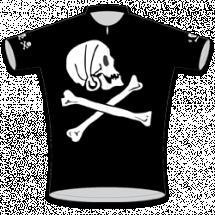 Pirate Kids Road Cycling Jersey