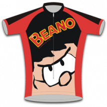 Dennis the Menace Kids Road Cycling Jersey