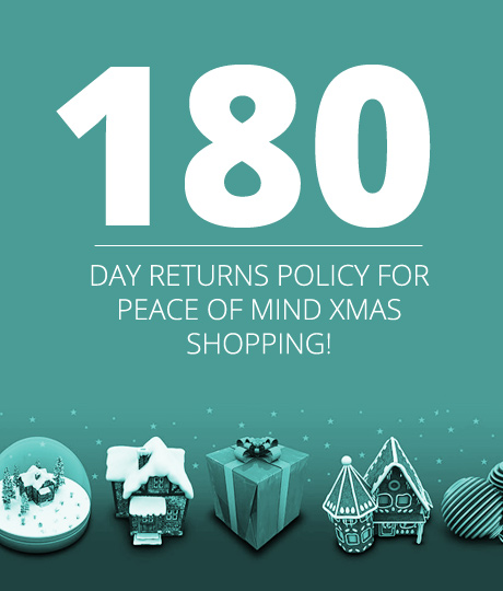 180 DAYS RETURN POLICY
