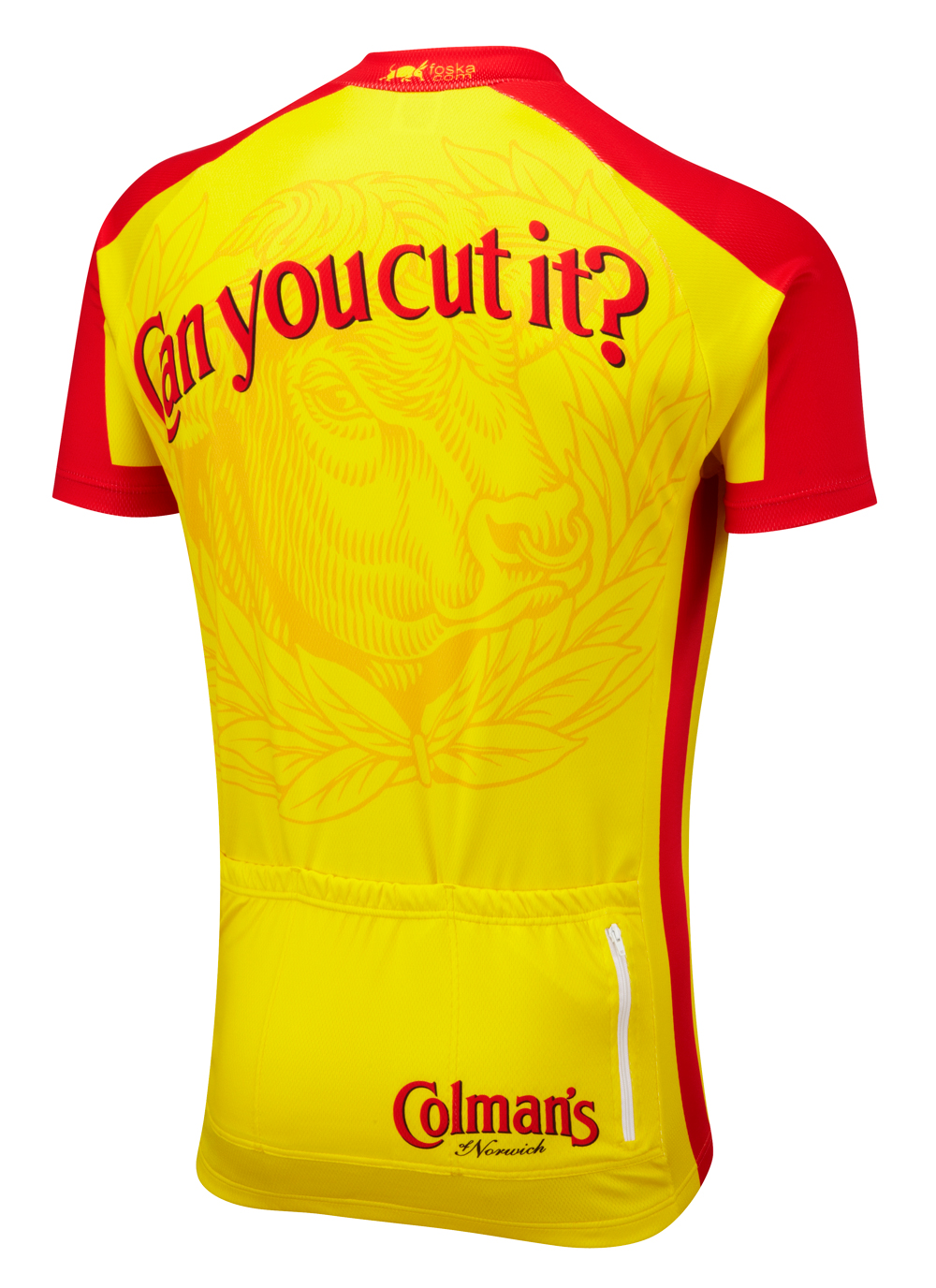 Colman s Mustard Road Cycling Jersey 4667e8bae