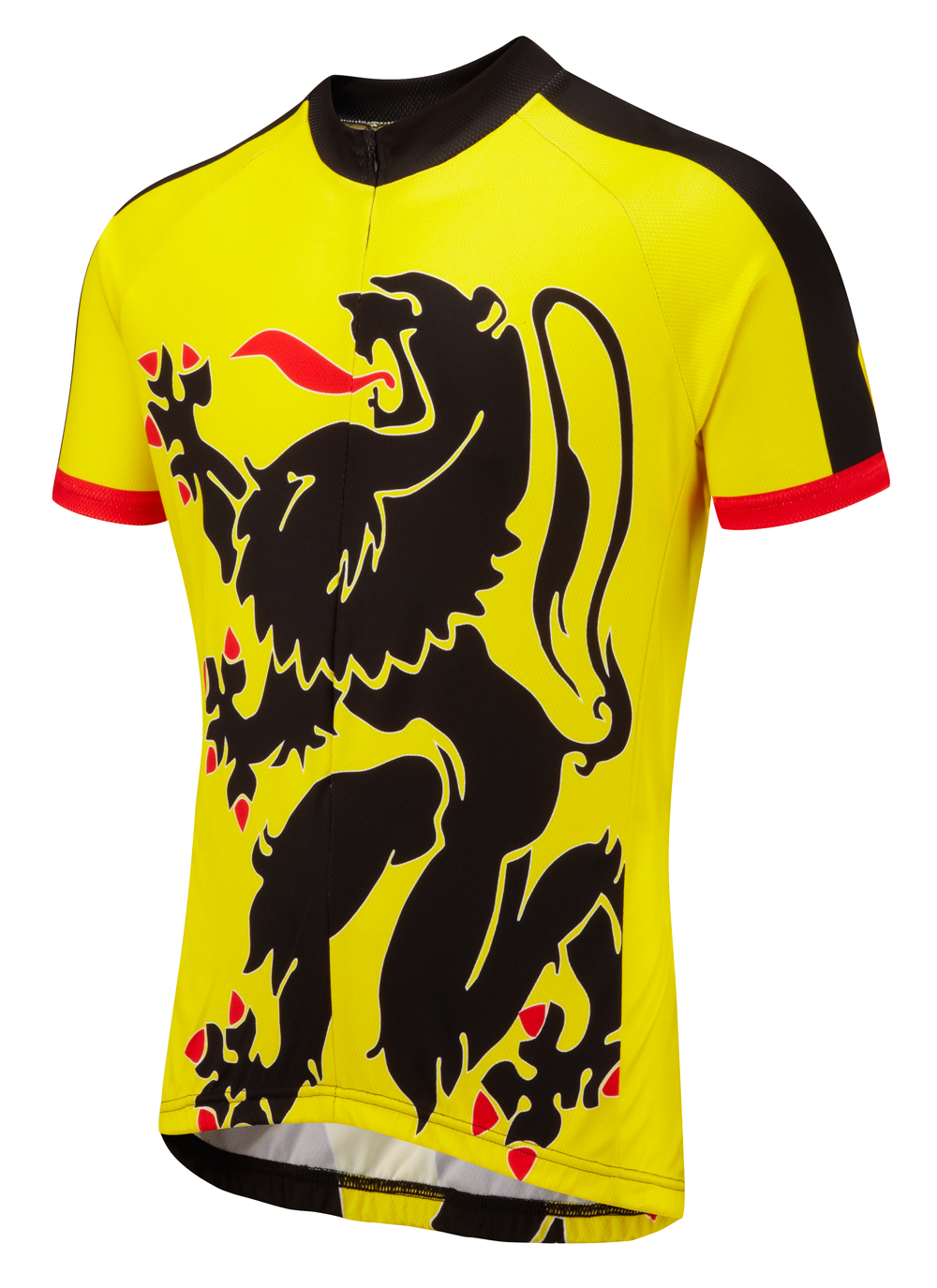 Lion Of Flanders Road Cycling Jersey Foska Com