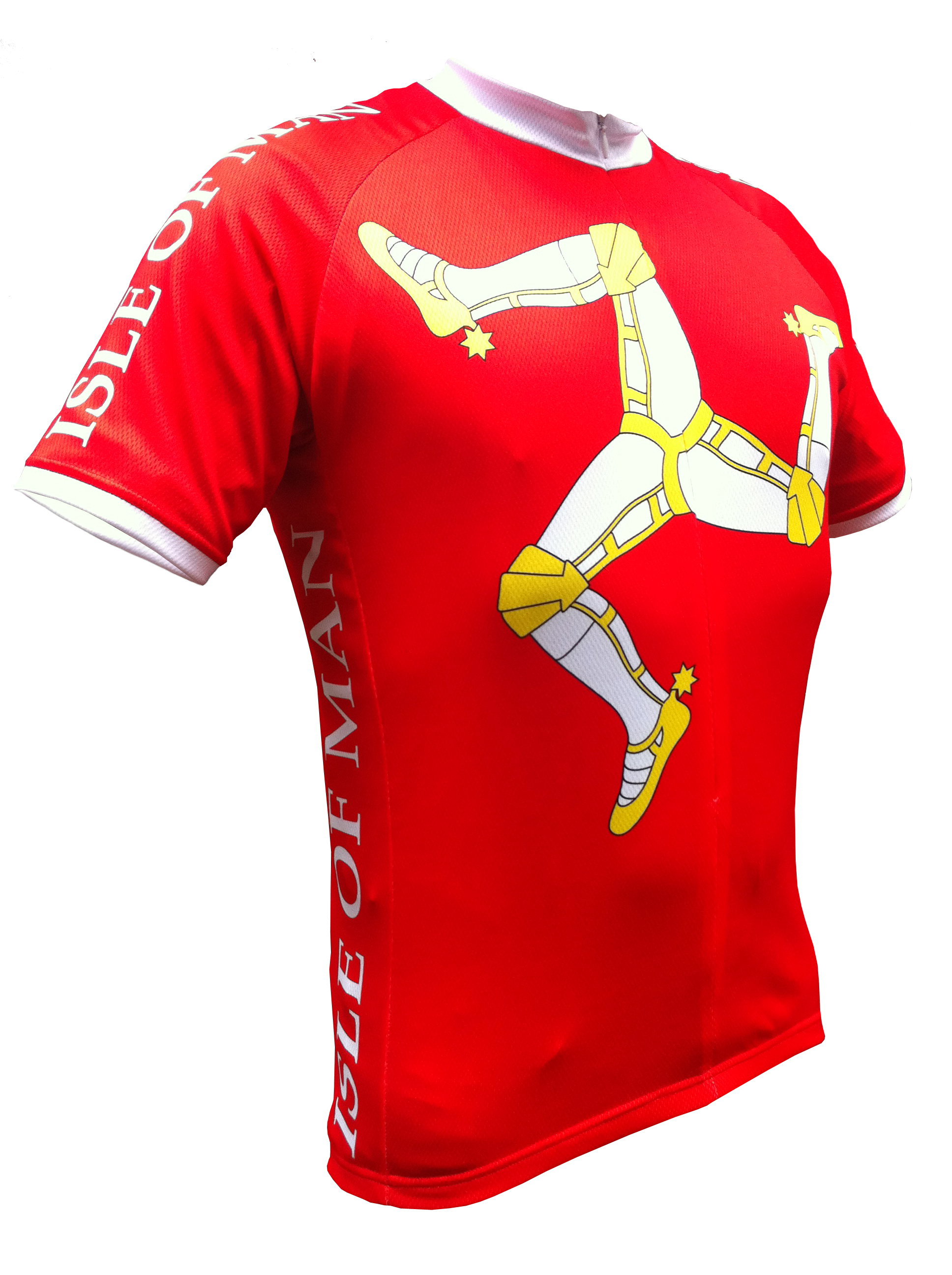 Red Isle of Man Road Cycling Jersey fc8cfe7f4