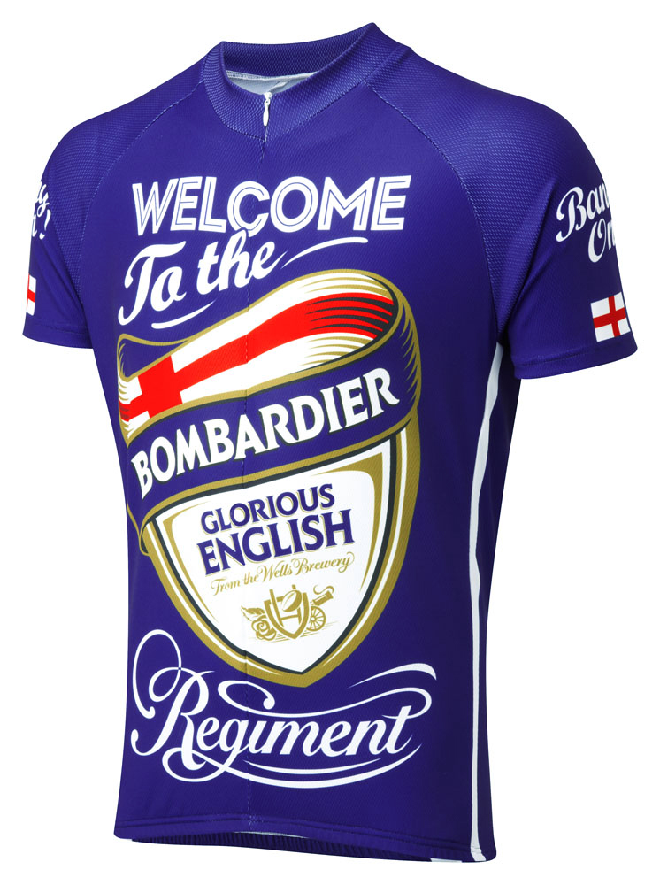 Bombardier Road Cycling Jersey e0d12fdf8
