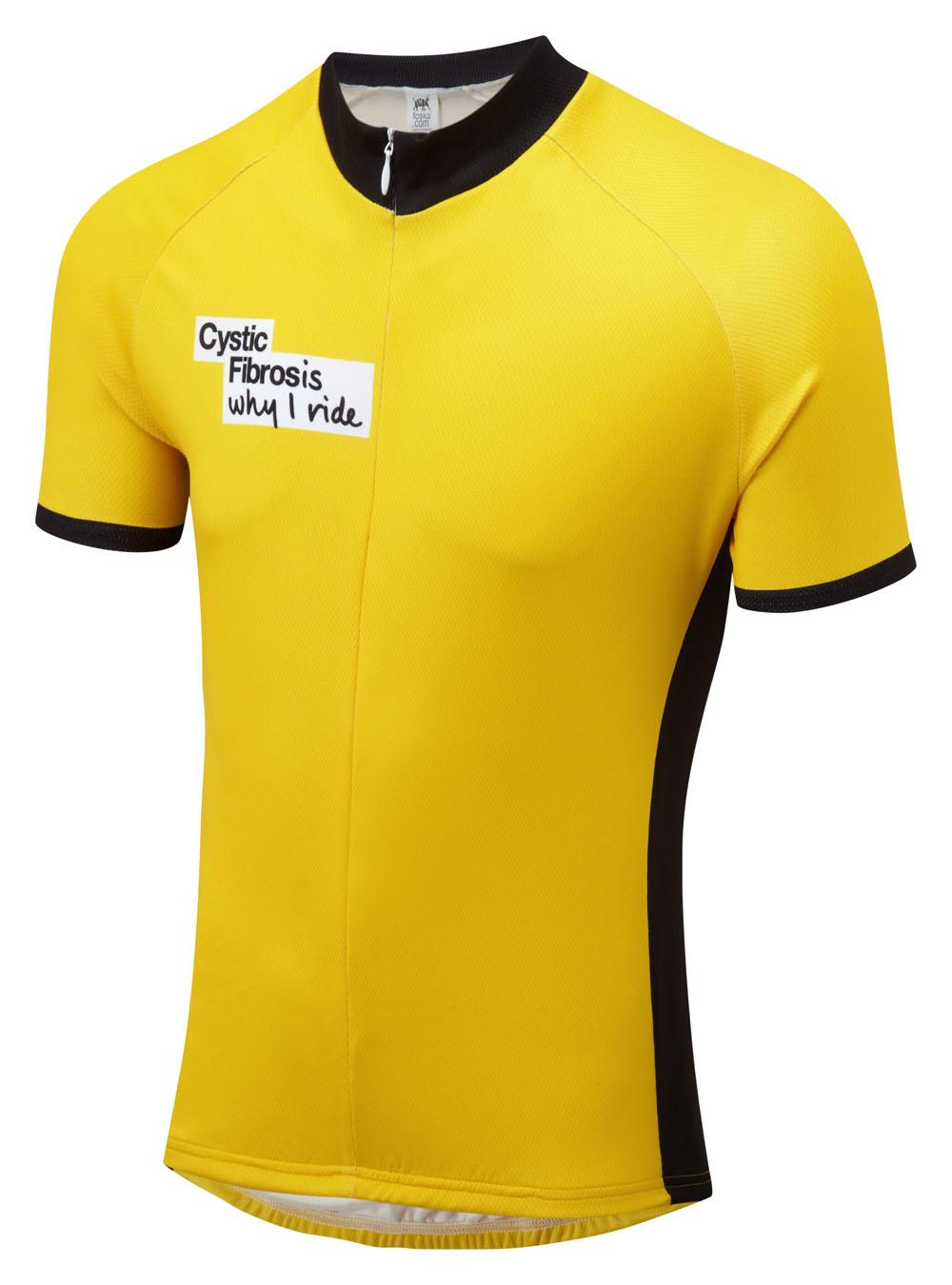 Cystic Fibrosis Road Cycling Jersey Foska Com