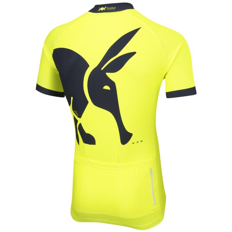 66eecbdf9 Oska Fluro Yellow Road Cycling Jersey Oska Fluro Yellow Road Cycling Jersey