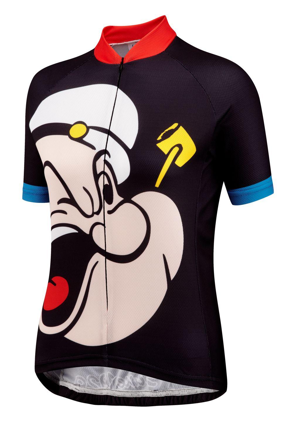 Popeye Road Cycling Jersey | Foska.com