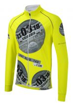 iPayRoadTax Fluro Yellow Toastie Cycling Jacket