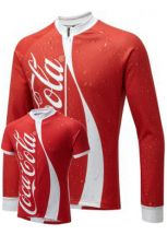 Coke Can Winter Cycling Jersey