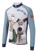 Wallace & Gromit Toastie Cycling Jacket