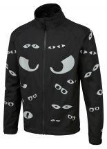 Eyes Hi-Vis Waterproof Cycling Jacket - Black