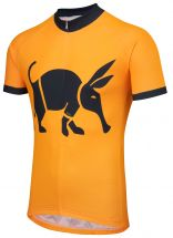 Oska Fluro Orange Road Cycling Jersey