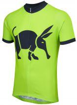 Oska Fluro Green Road Cycling Jersey