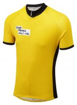Oska Fluro Yellow Road Cycling Jersey