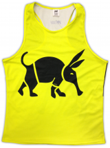 Oska Fluro Yellow Running Vest