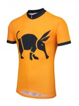 Oska Fluro Orange Kids Road Cycling Jersey