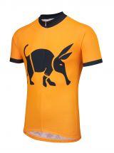Oska Fluro Orange Kids Road Cycling Jersey