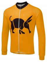 Oska Fluro Orange Winter Cycling Jersey