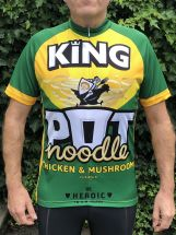 Chicken & Mushroom Road Cycling Jersey