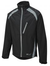 Oska Hi-Vis Waterproof Cycling Jacket - Black