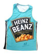 Heinz Beanz Running Vest