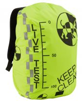 Test Dummy Hi-Vis Rucksack Cover - Black