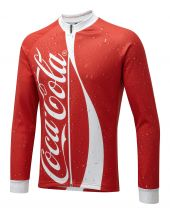 Coke Can Winter Cycling Jersey