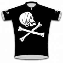 Pirate Kids Road Cycling Jersey