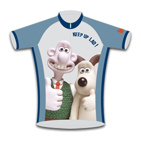 Wallace & Gromit Kids Road Cycling Jersey