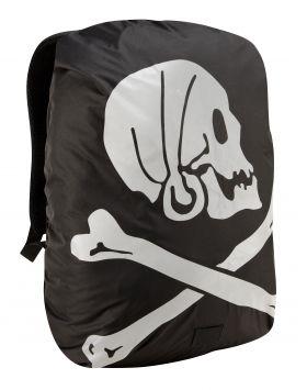 Pirate Hi-Vis Rucksack Cover - Black