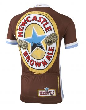 Newcastle Brown Ale Road Cycling Jersey Back