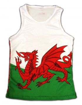 Wales Running Vest