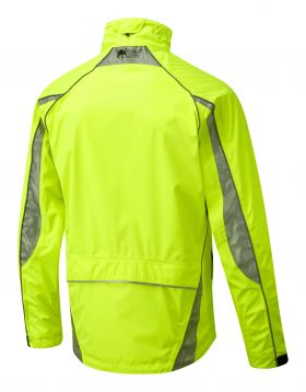 Foska Oska Waterproof Jacket - Fluro Yellow