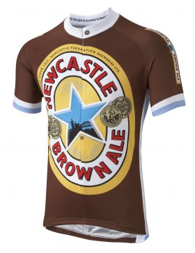 Newcastle Brown Ale Road Cycling Jersey
