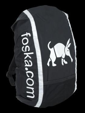 Foska Oska Rucksack Cover - Black