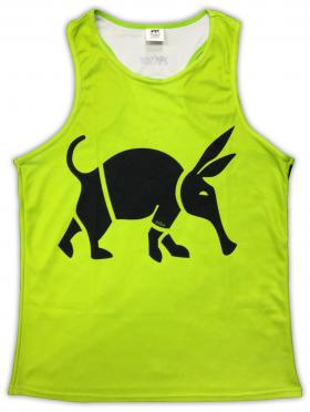 Oska Fluro Green Running Vest