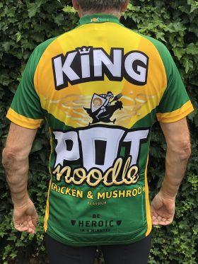 Chicken & Mushroom Road Cycling Jersey