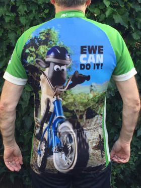 Shaun the Sheep Road Cycling Jersey