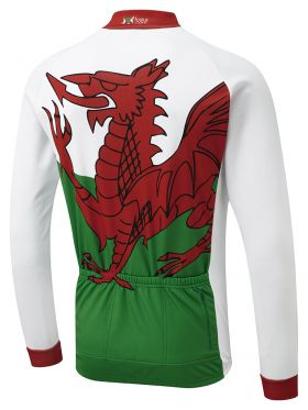 wales winter jersey back