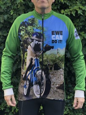 Shaun the Sheep Winter Cycling Jersey